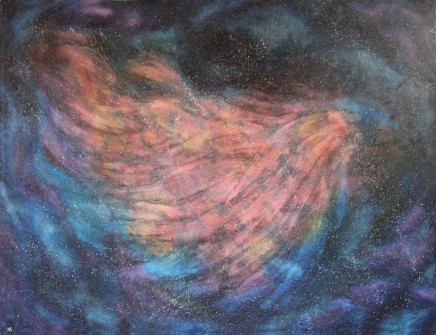 Número: 4 aTítulo: UniversoTécnica: Óleo sobre tela Tamaño: 116x89 cm Año: 2015Tipo: Díptico