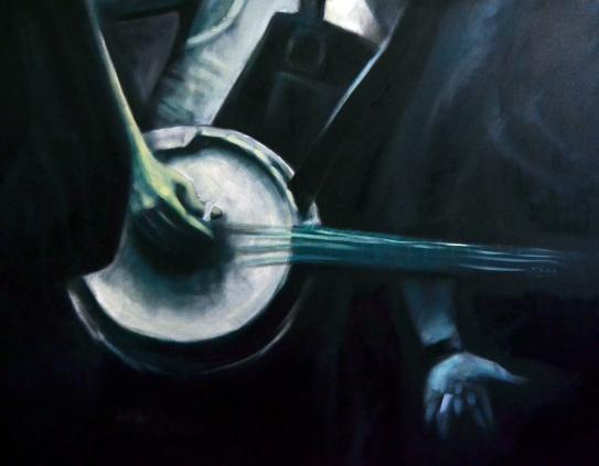 Número: 4Título: Banjo Técnica: Mixta Tamaño: 130x97 cm